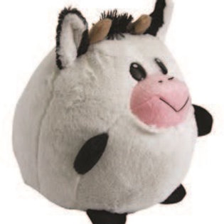 Huggable Plush Ball Cow: Boliapapacho Vaca