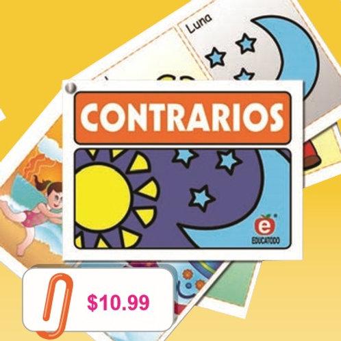 Notebook Opposites: Cuadernillo Contrarios