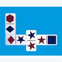 Geometric Dominoes Game: Domino Geométrico