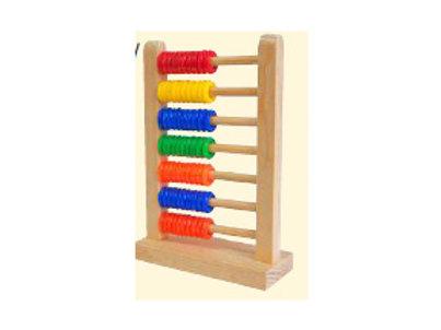 Abacus Wood 7 Rows