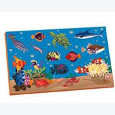 Magnetic Puzzle Fishes: Resaque Magnetico Peces