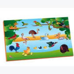 Magnetic Puzzle Birds: Resaque Magnetico Aves