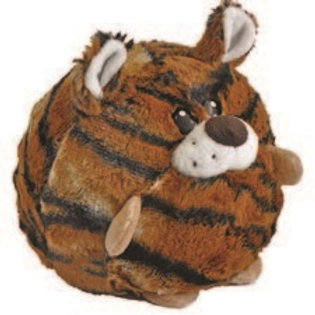 Huggable Plush Ball Tiger: Boliapapacho Tiger