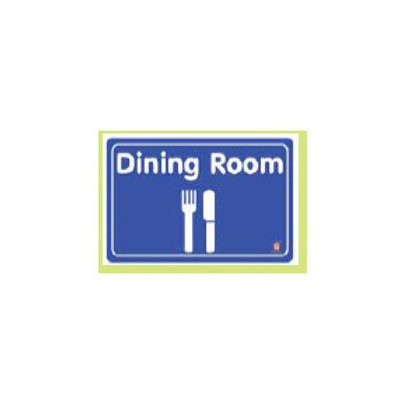 Classroom Label - Dining Room