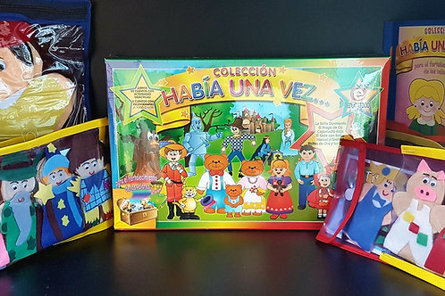 Habia Una Vez Complete Kit with Puppets PK-1