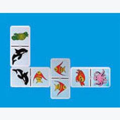 Sea Animals Dominoes Game: Dominó Animales del Mar