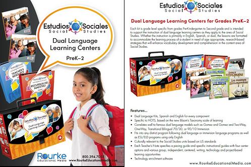 Estudios Sociales, Social Studies Dual Language Kit PK-2