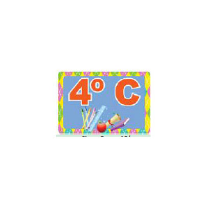 Classroom Label - Group 4C