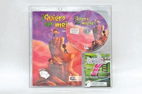 Authentic Spanish Book: Quiero ser Mejor