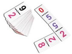 Numbers 0-12 Dominoes Game: Dominó Grupal Números 0-12