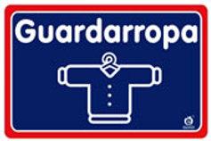 Sign Closet: Señal Guardaropa