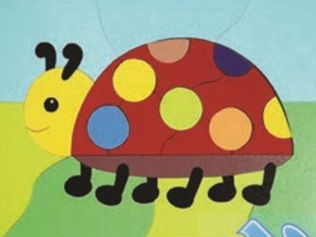 Puzzle Ladybug: Rompecabezas la Catarina