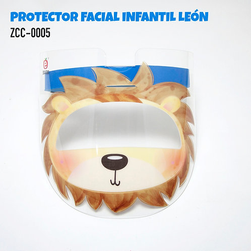 Children's Face Protector Shield-Lion