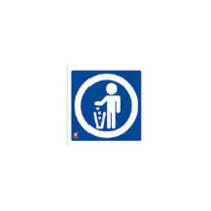 Classroom Label - Throw Trash Here