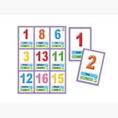 Number Bingo Game: Lotería de números