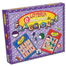 Fractions Bingo Game: Lotería de Fracciones