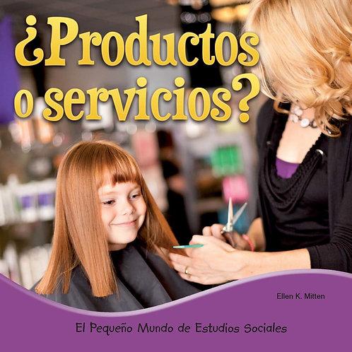 Productos o servicios ? (goods or services)