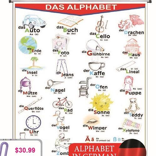 Erasable Alphabet Chart: Plumocolor Alfabeto
