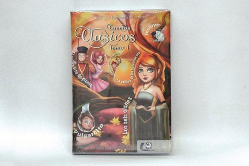 Authentic Spanish Book: Cuentos clásicos Tomo I