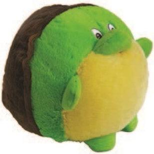 Huggable Plush Ball Turtle: Boliapapacho Tortuga