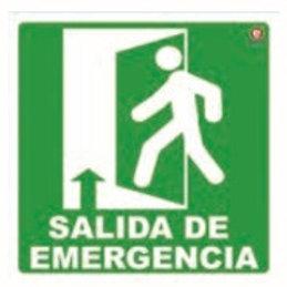 Sign Individual Emergency Exit: Señal Individual Salida de Emergencia