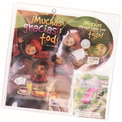 Authentic Spanish Book: Muchas Gracias por Todo