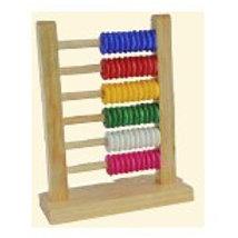 Abacus Wood 6 Rows