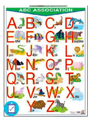ABC Association Poster (Hangable)