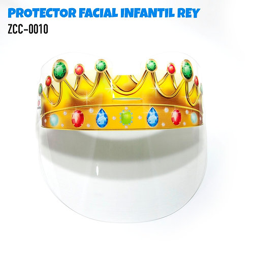 Children's Face Protector Shield-Little King