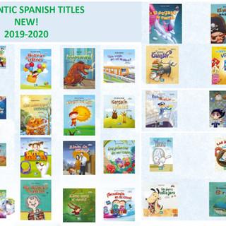 AUTHENTIC SPANISH TITLES NEW