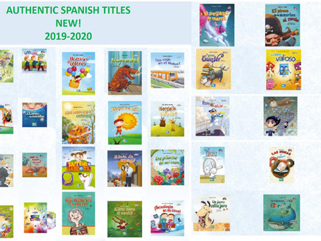 New Spanish Titles Available 2019-2020!