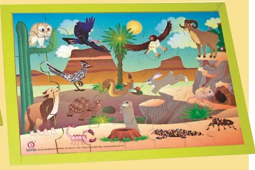 Puzzle - Desert: Rompecabezas El Desierto