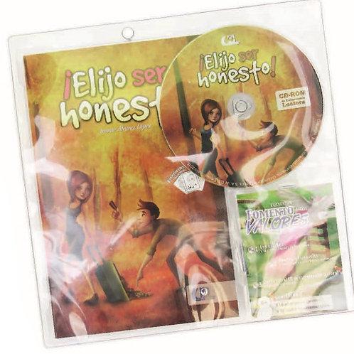 Authentic Spanish Book: Elijo Ser Honesto