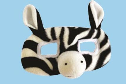 Zebra Mask: Antifaz Figura