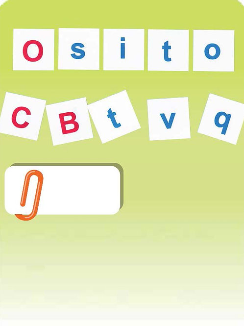 Alphabet Script Letters (168pc)