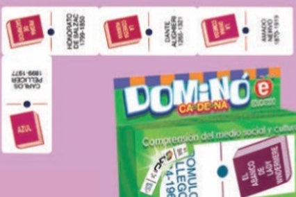 Literature Dominoes Game: Dominó de Literatura