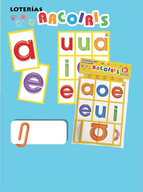 Vowels Bingo Game: Lotería de Vocales