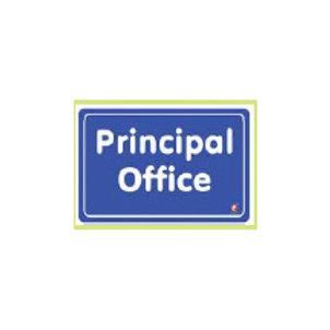 Classroom Label - Principal Office