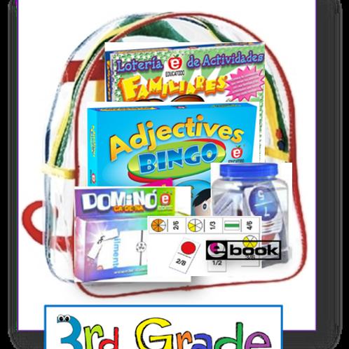 3rd grade, Parent Take-home backpacks, Span/Eng, Standards-based Family