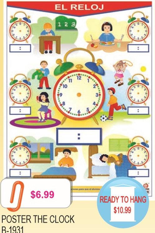 Poster The Clock: Poster El Reloj
