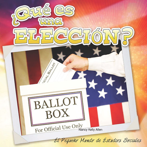Que es una eleccion? (What is an election?)