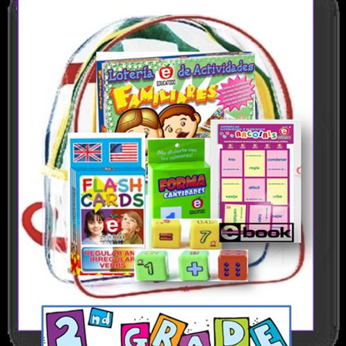 2nd grade, Family Take-home backpacks, Span/Eng, Standards-based Family