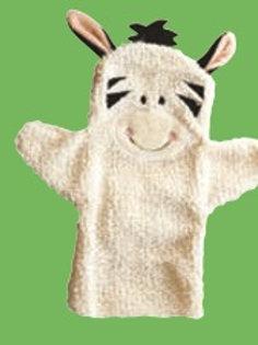 Baby Zebra Hand Puppet: Babytiteres Zebrita