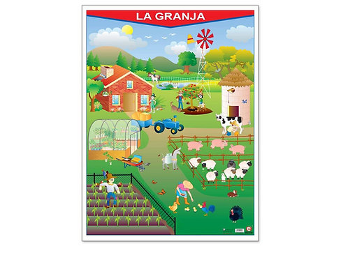 Poster Farm: Poster La Granja
