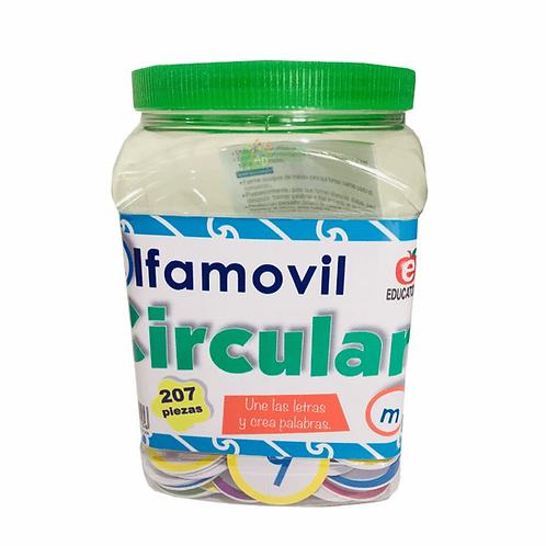 ALFAMOVIL CIRCULAR/ Circular Spanish Alphabet Game