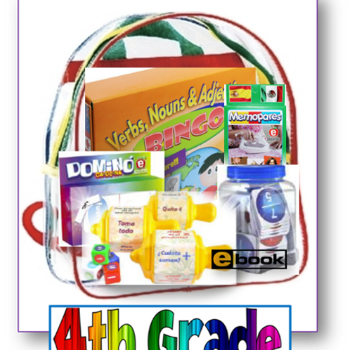 4th grade, Parent Take-home backpack, Span/Eng, Standards-based Family