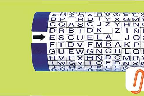 Gyrograph Alphabet: Girógrafo Abecedario