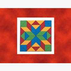Rombus and Triangle Mosaic: Mosaico Rombos y Tr...