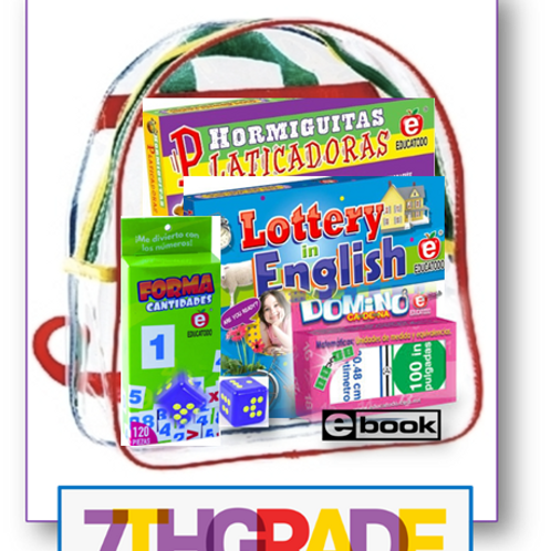 7th grade, Parent Take-home backpack, Span/Eng, Standards-based Family