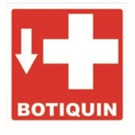 Sign Individual Medical Kit: Señal Individual Botiquín